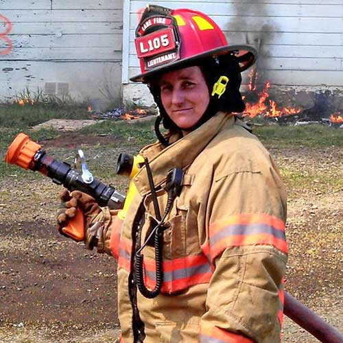 bicycle training instructor firefighter