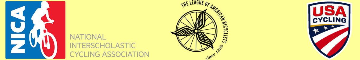 logo cycling organizations, league, usa, nica